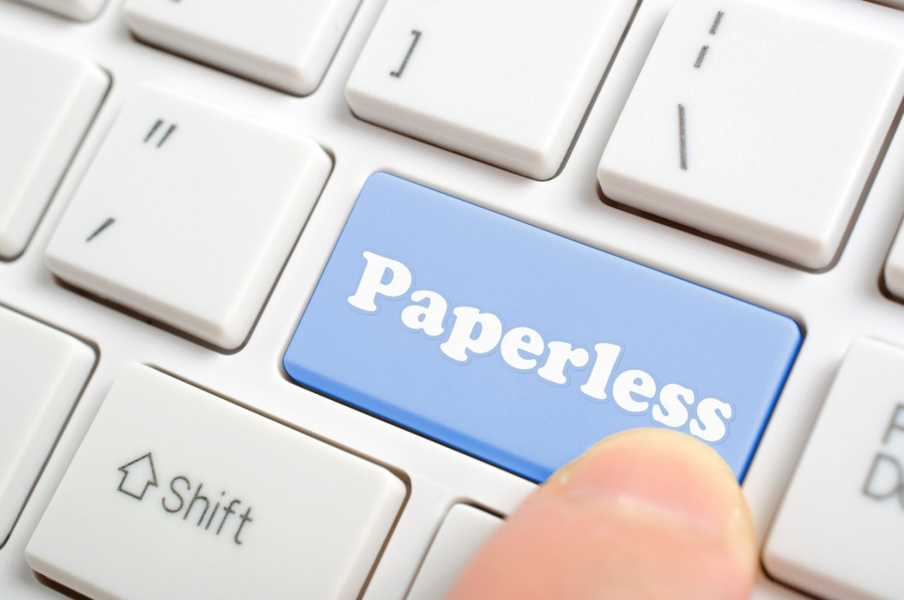 How much does it cost to go paperless?