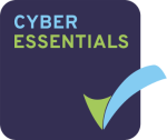 Cyber Essentials logo. Pearl Scan's data capture and document scanning services have been certified by Cyber Essentials by using the appropriate defence procedures to keep client's data secure from digital threats.