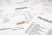 Paper invoice document types that we scan and convert into a digital file to automate invoice processing for companies in London and throughout the UK.