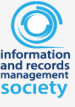 Logo of the information and records management society who we are members with. Working with the high standards and security of records and information management.